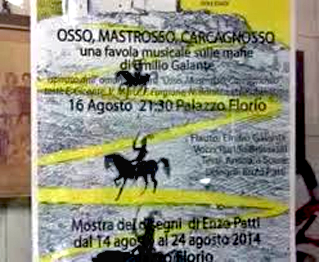altra foto Osso, Mastrosso e Carcagnosso a Favignana 16 agosto 2014