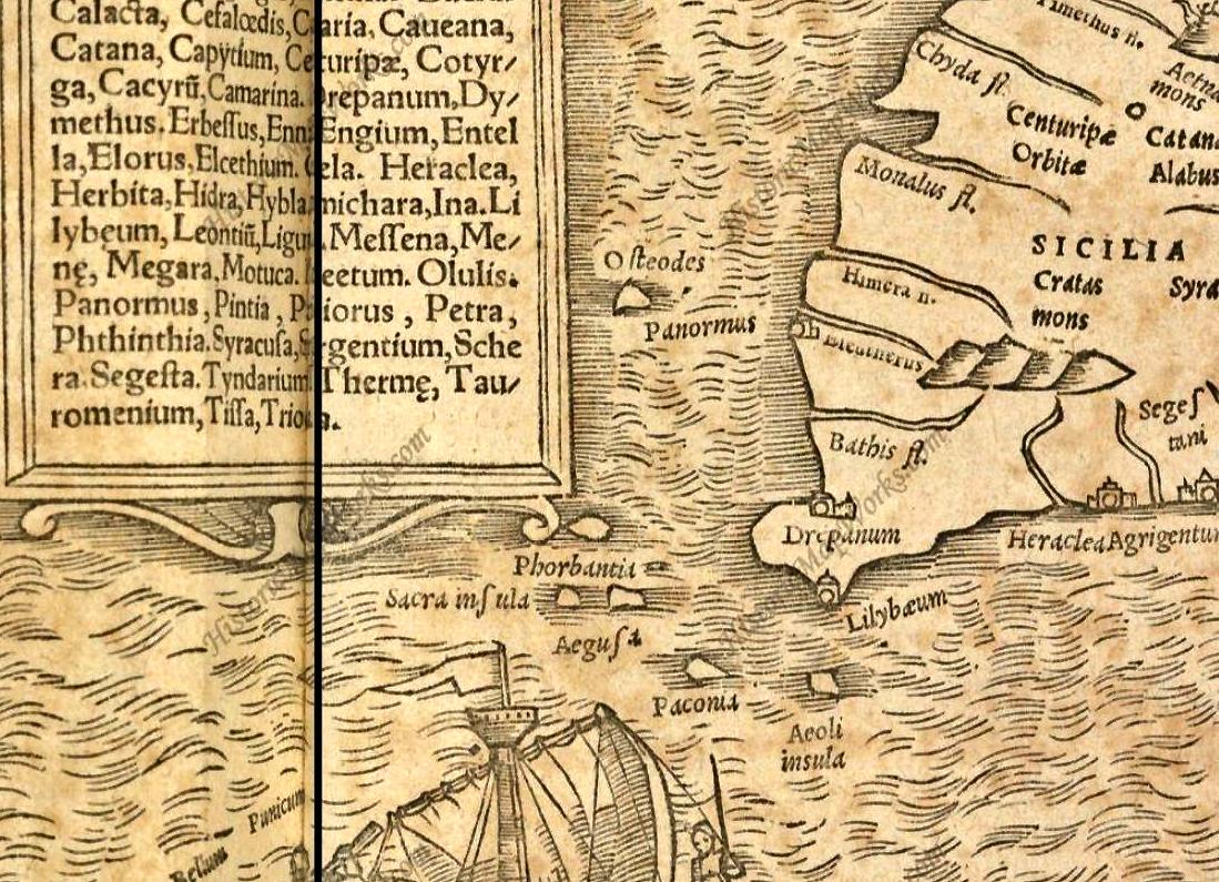 foto Geographia Vniversalis, vetus et nova, compledctens Clavdii Ptolemaei