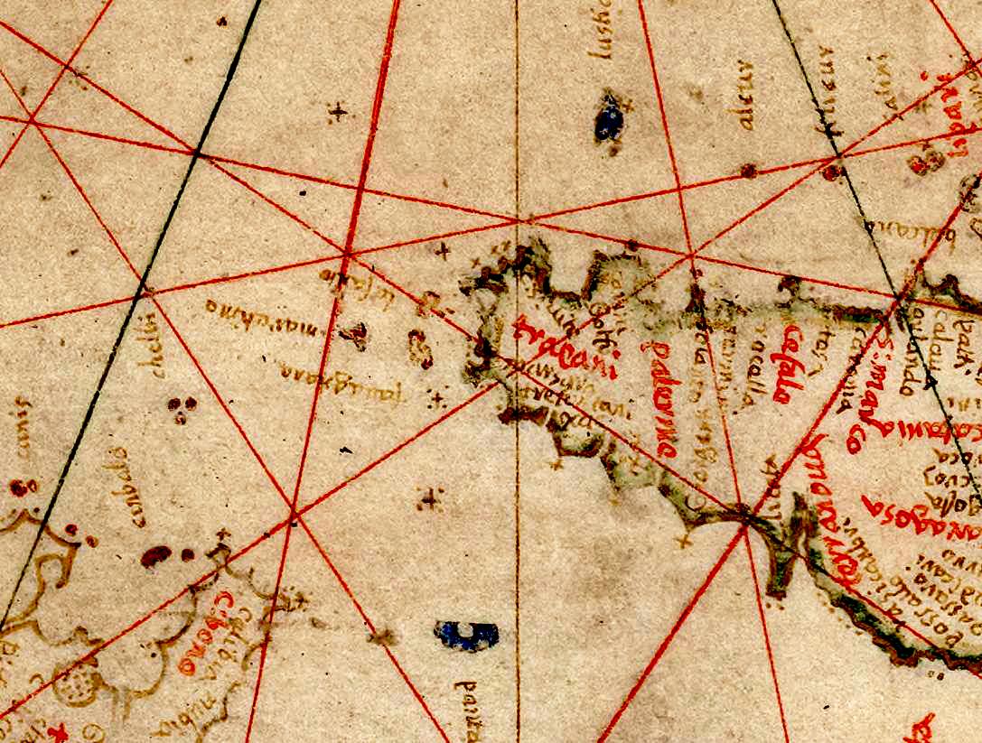 foto Carte nautique de l'Océan Atlantique Nord-Est , de la Mer Baltique, de la Méditerranée ...