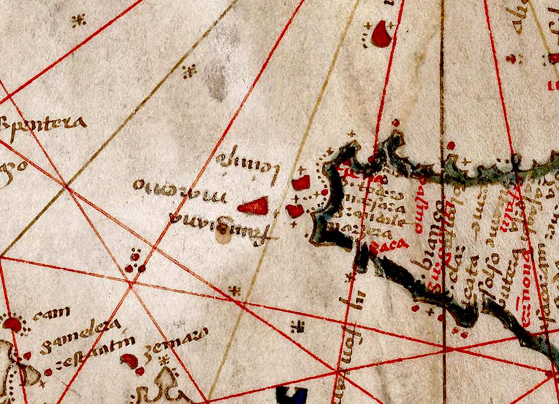 foto Carte nautique de la Mer Méditerranée et de l'Océan Atlantique nord-est