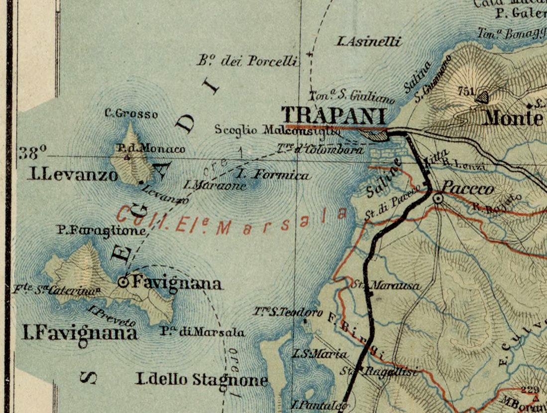 foto Carta generale della Sicilia