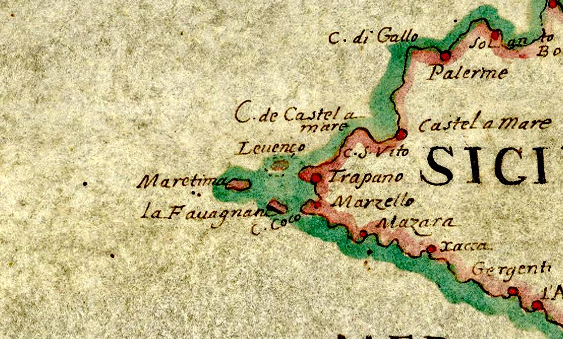 foto Les Costes d'Italie, de Sicile, de Sardaigne, de Corse, de Dalmatie, de Grèce, de Tunis et de Tripoli