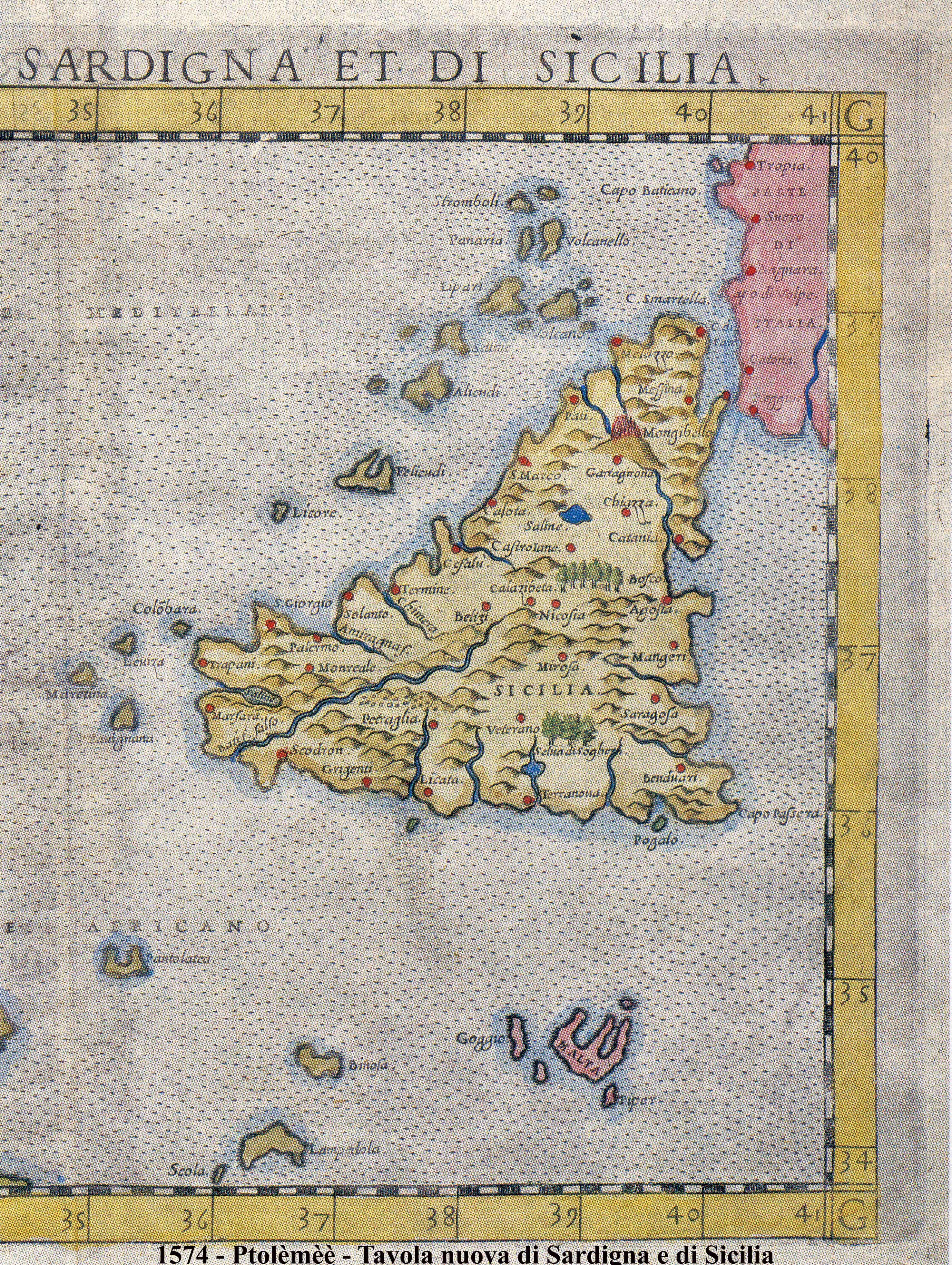 foto Tavola nuova di Sardigna e di Sicilia sicilia