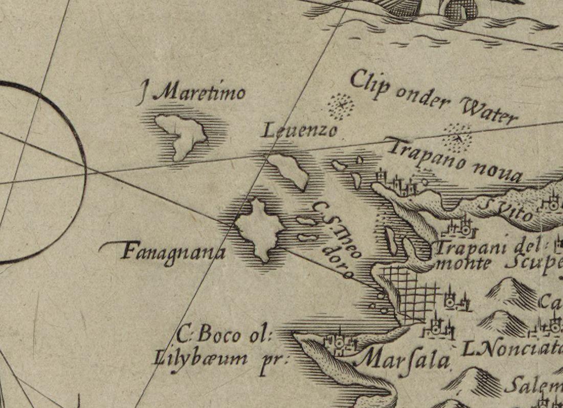 foto Hydrographica tabula, in qua Siciliae