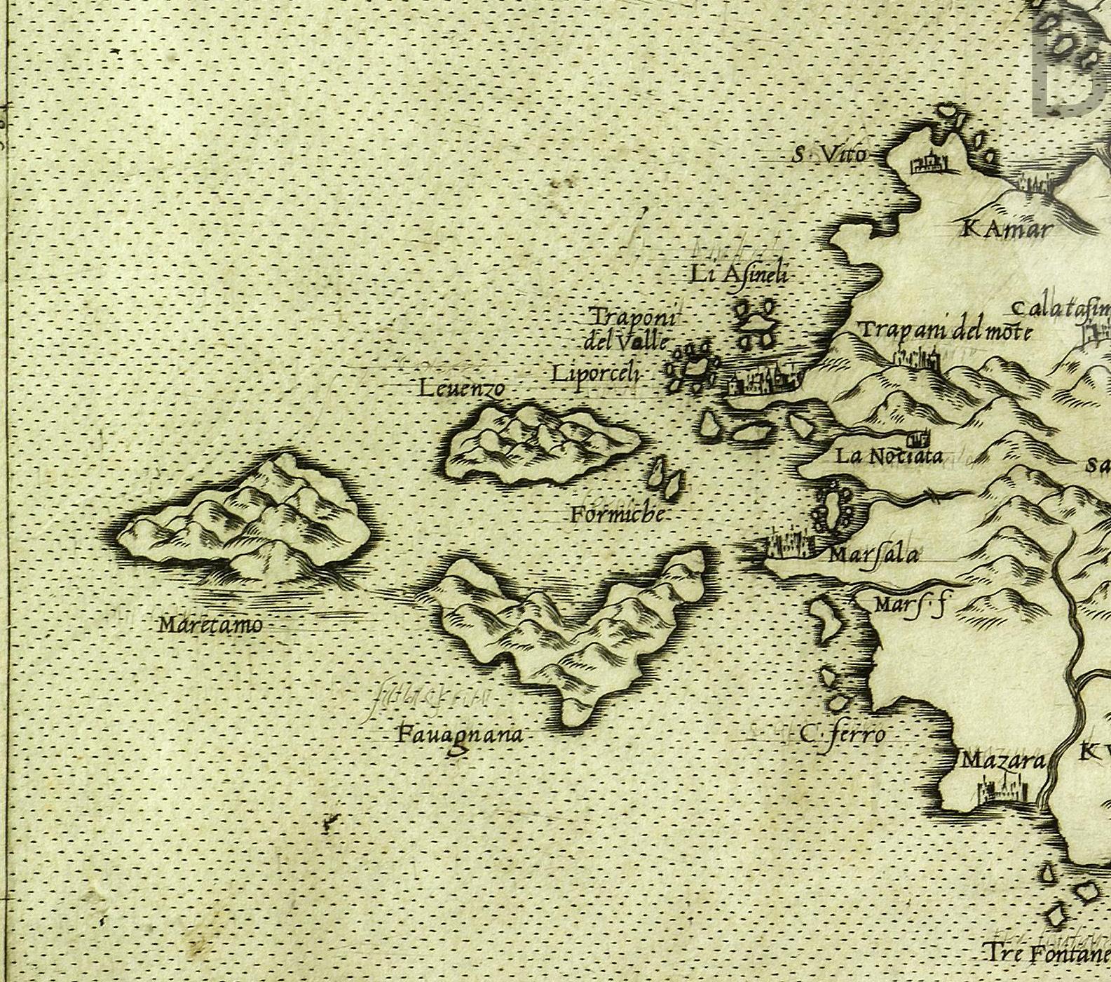 foto Sicilia insularum omnium (ut inquit Diodorus), optima, et Mediterranei Maris maxima.