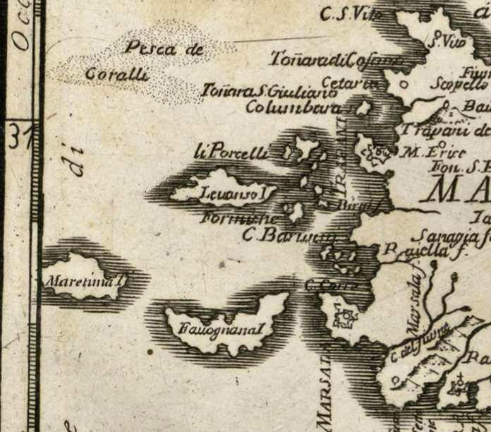 foto Carte de' Regni di Napoli, e di Sicilia