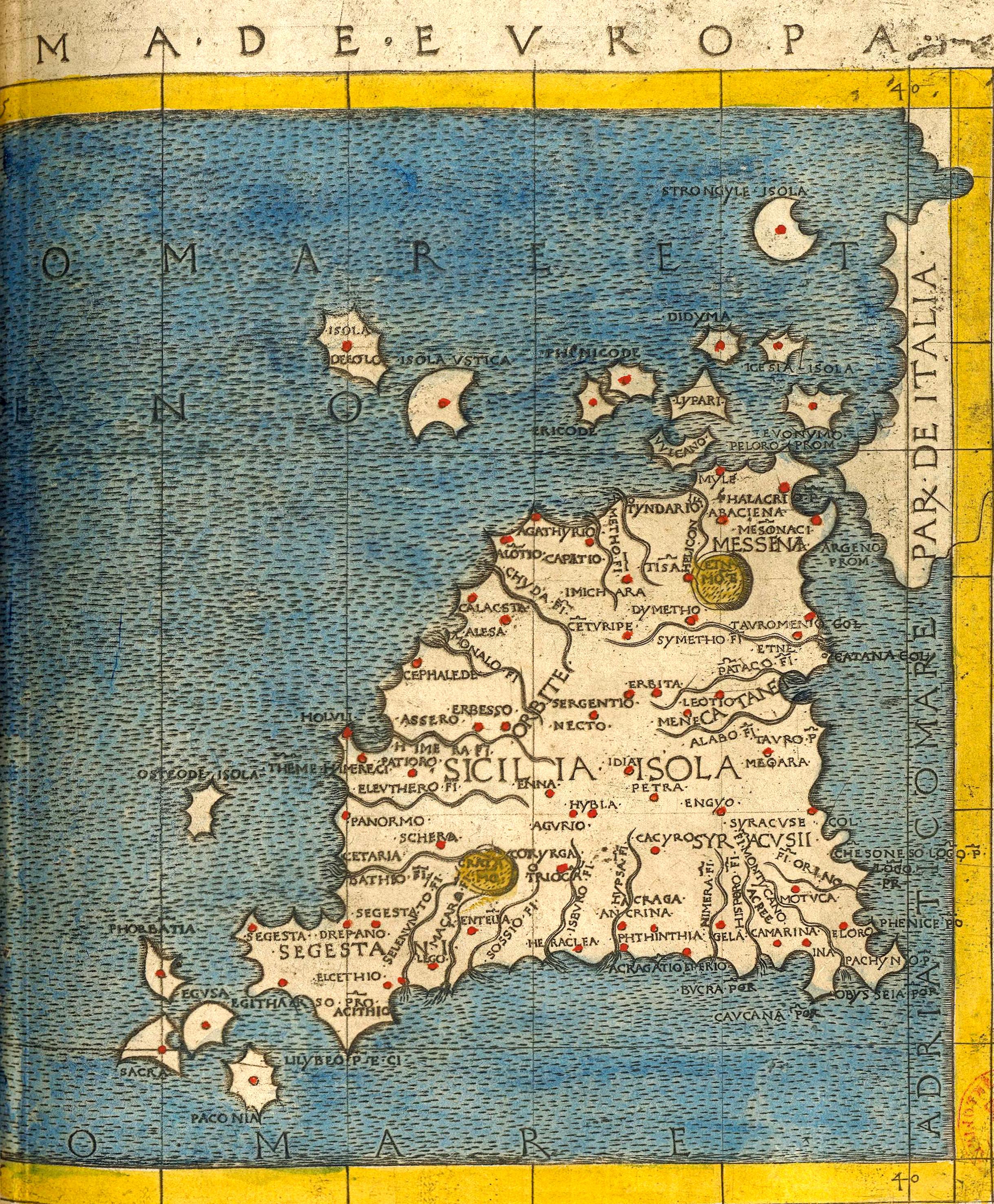 foto Geographia di Francesco Berlinghieri