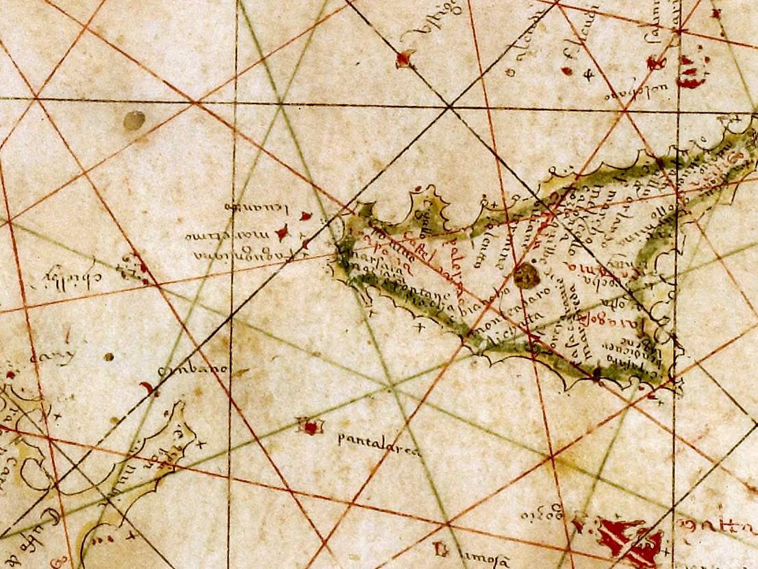 foto Atlas nautique manuscrit