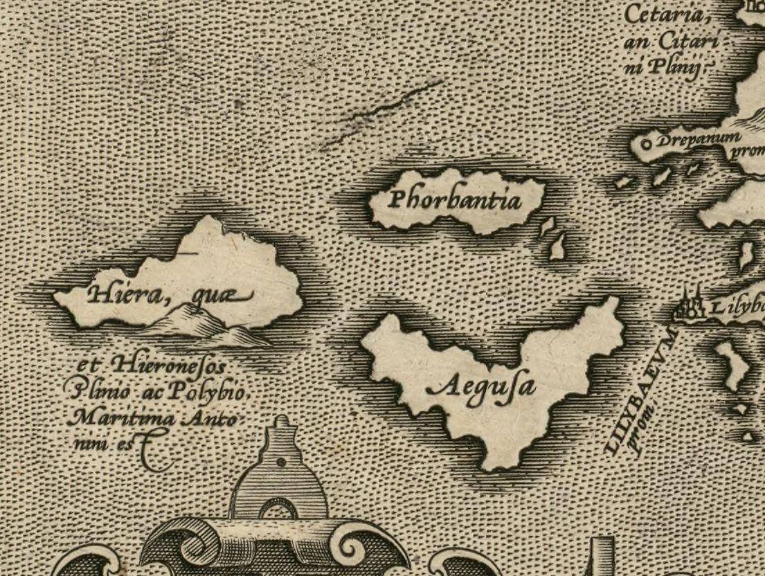 foto Siciliae veteris typus  / ex conatibus geographicis Ab. Ortelij