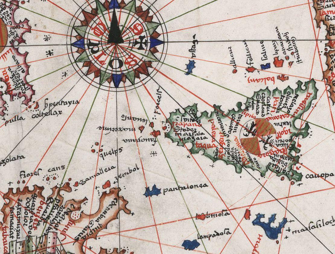 foto Carte de l'Océan Atlantique Nord-Est, de la Mer Méditerranée et de la Mer Noire