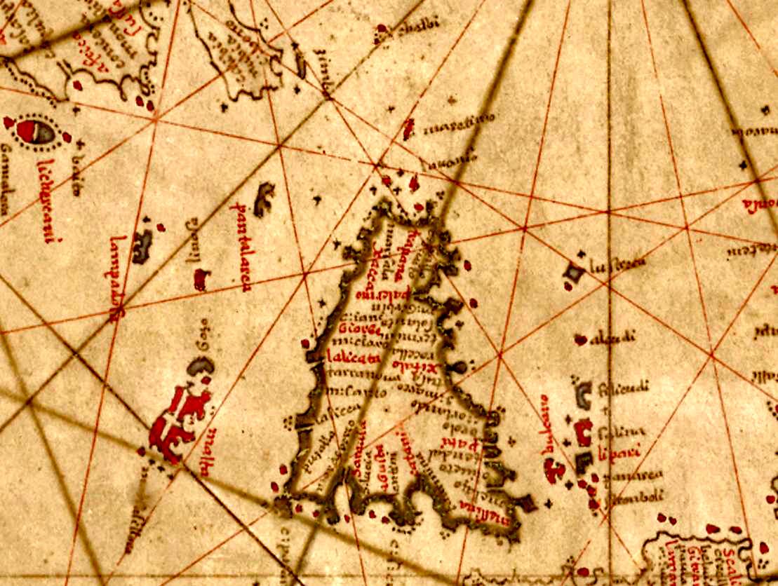 foto Carte nautique de l'Atlantique nord-est, de la mer Méditerranée et de la mer Noire
