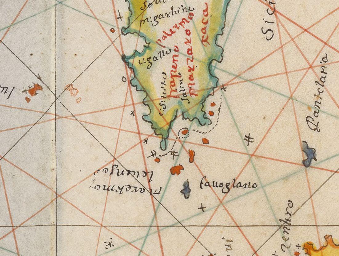 altra foto Carto particuliero de l'islo de Sicillo