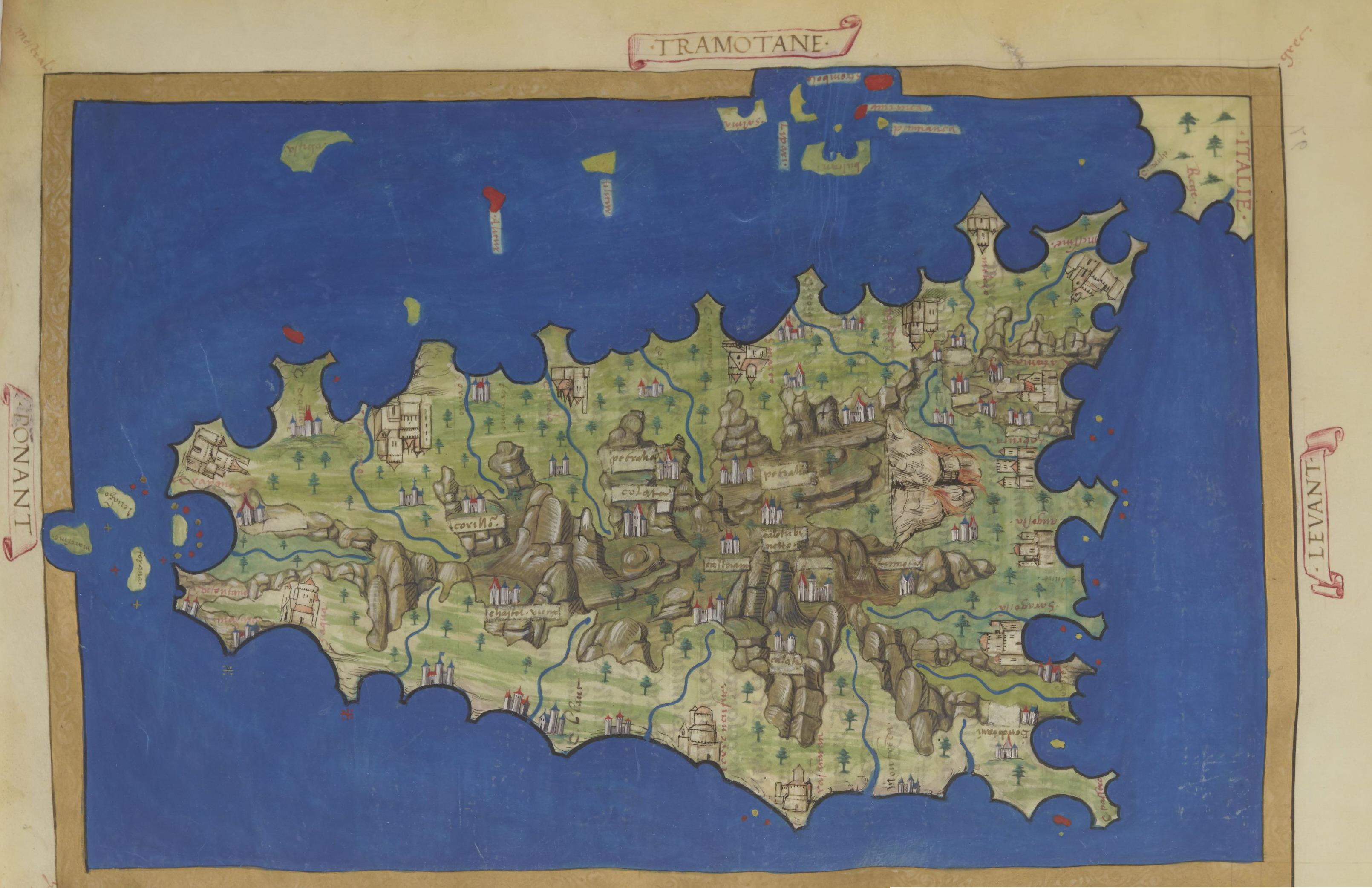 foto Description des côtes, des îles et des ports de l'Océan atlantique et de la Mer Méditerranée