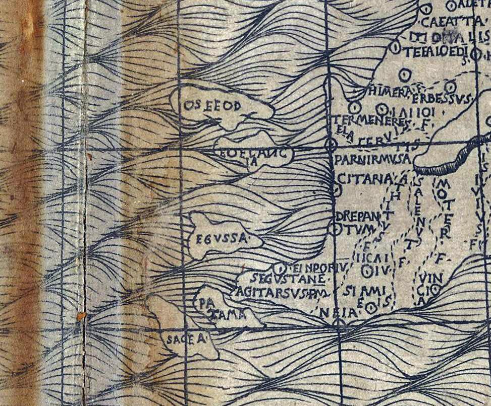 foto Claudii Ptolemaei Cosmographia