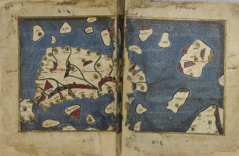 foto Tabula Rogeriana