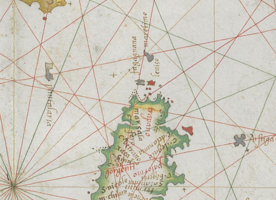 foto Atlas de la Mer Méditerranée, de la Mer Noire et de l'Océan Atlantique nord-est. Diegus homé Cosmographus Lusitanus fecit venettis ano apartu Virginis 1574