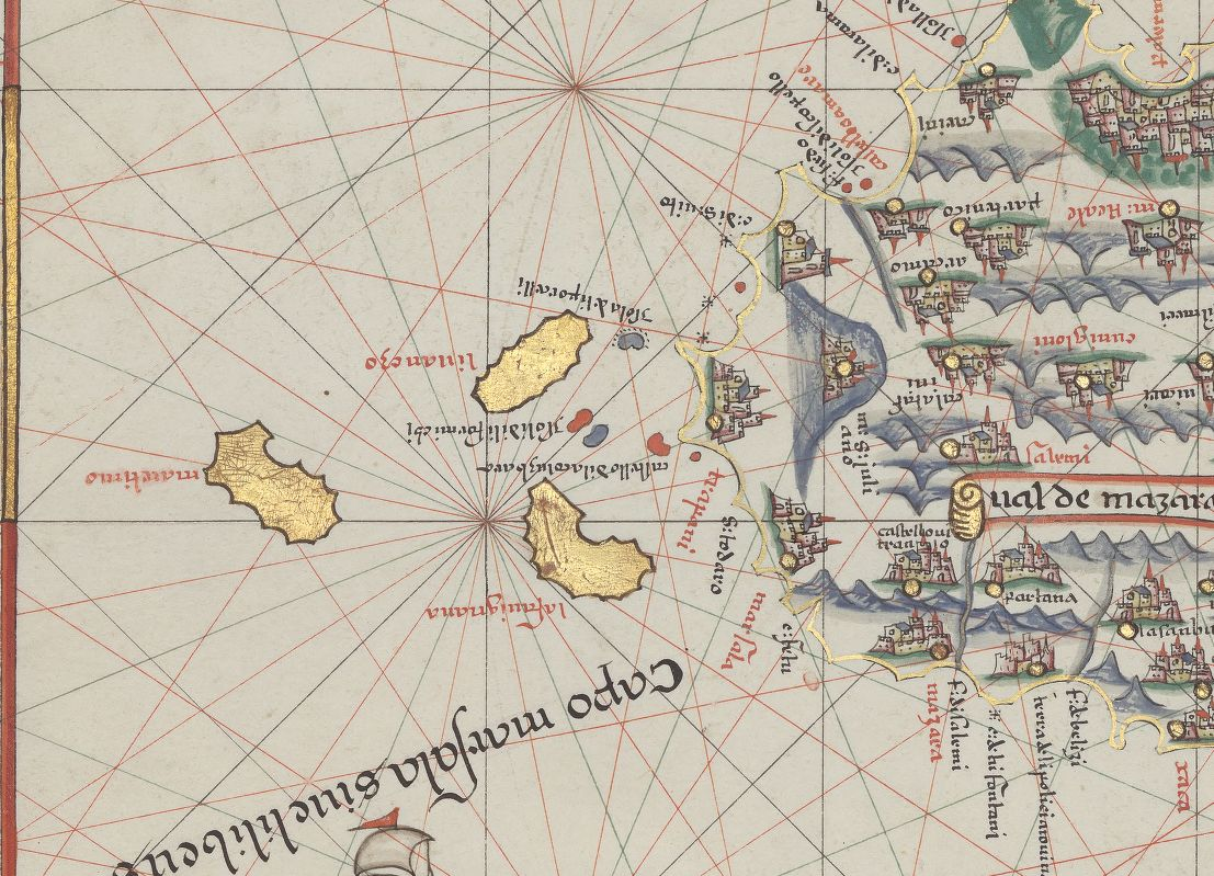 altra foto Atlas nautique du monde composé de sept cartes manuscrites sur vélin