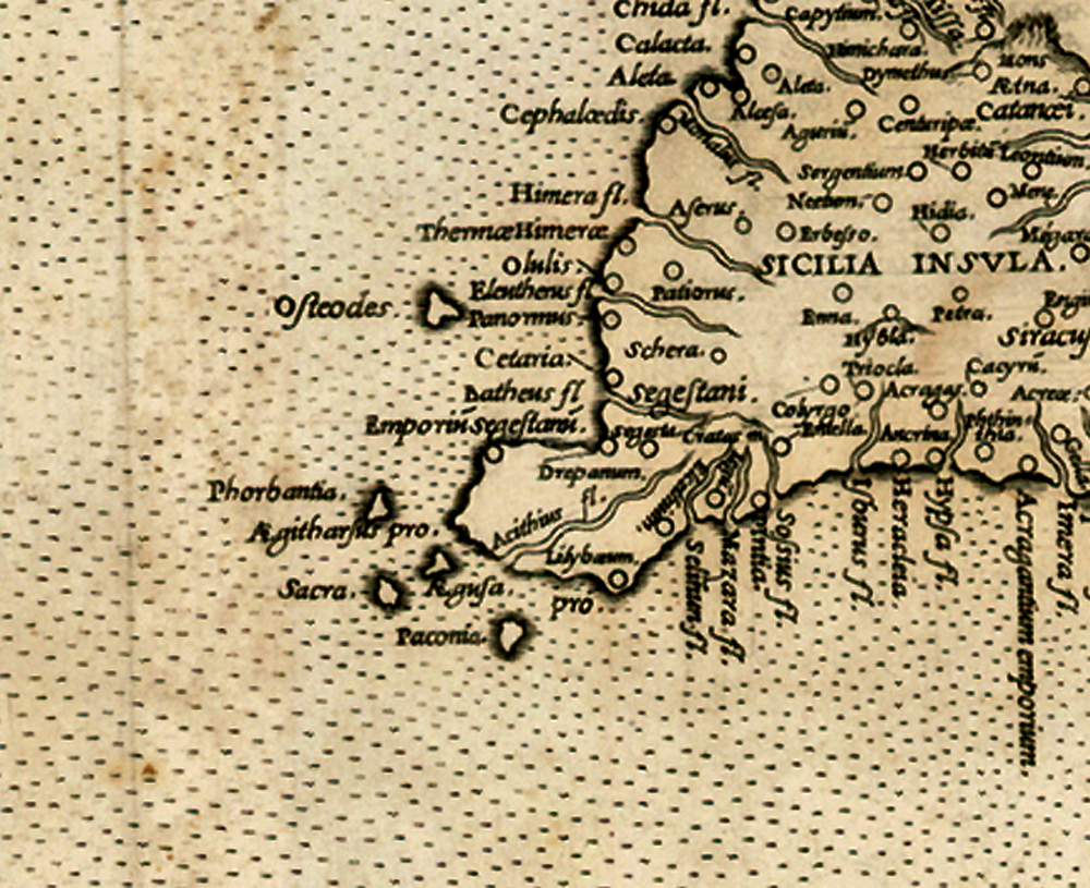 foto Europae Tabula VII (Sicily, Malta, Sardinia)