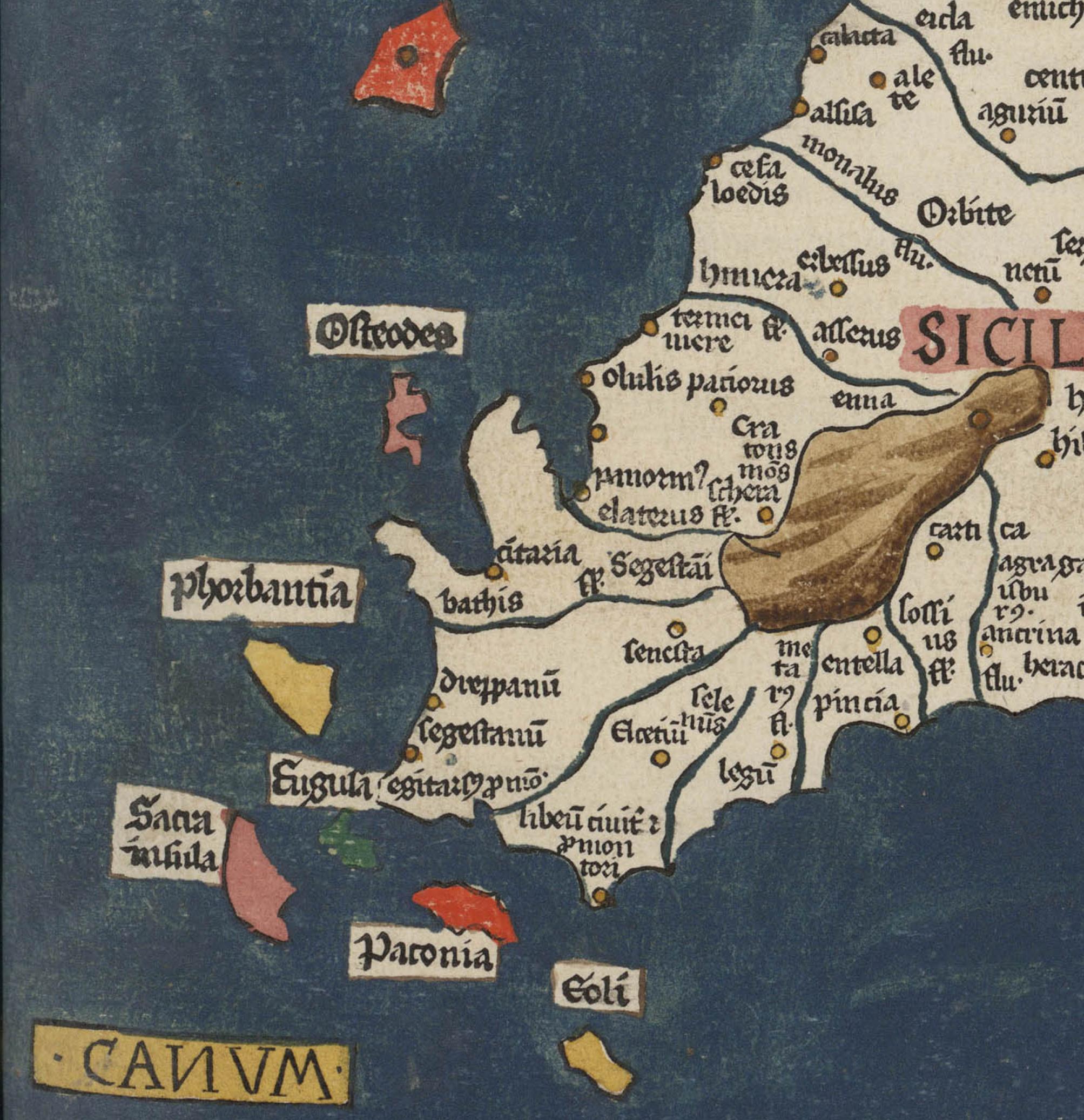 foto Cosmographia (latine) interprete Jacobo Angelo