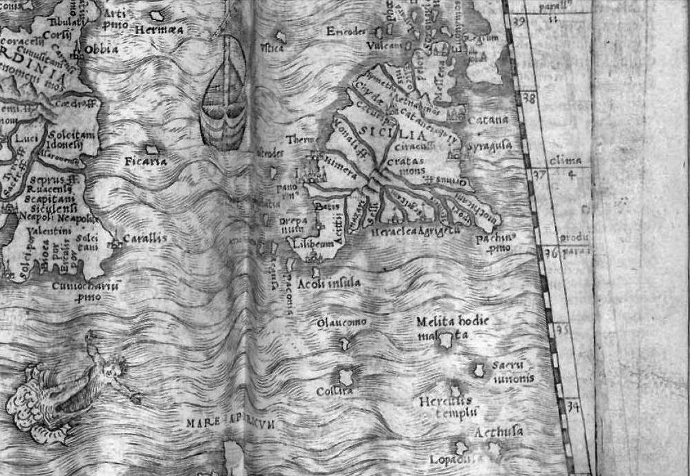 foto La geografia di Claudio Ptolomeo ...
