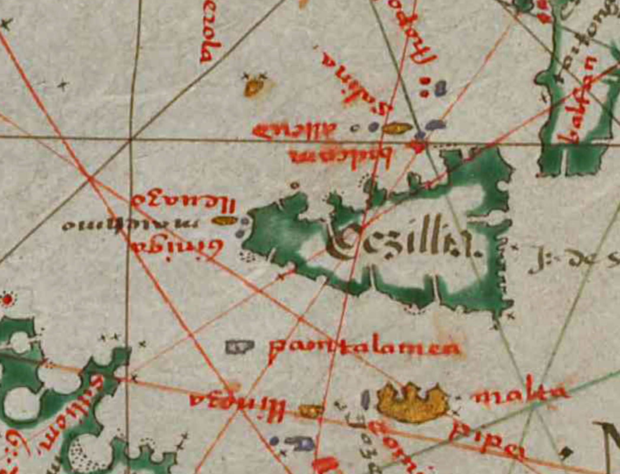 foto Atlas with Portolan Charts of the Old World and New World, 1580
