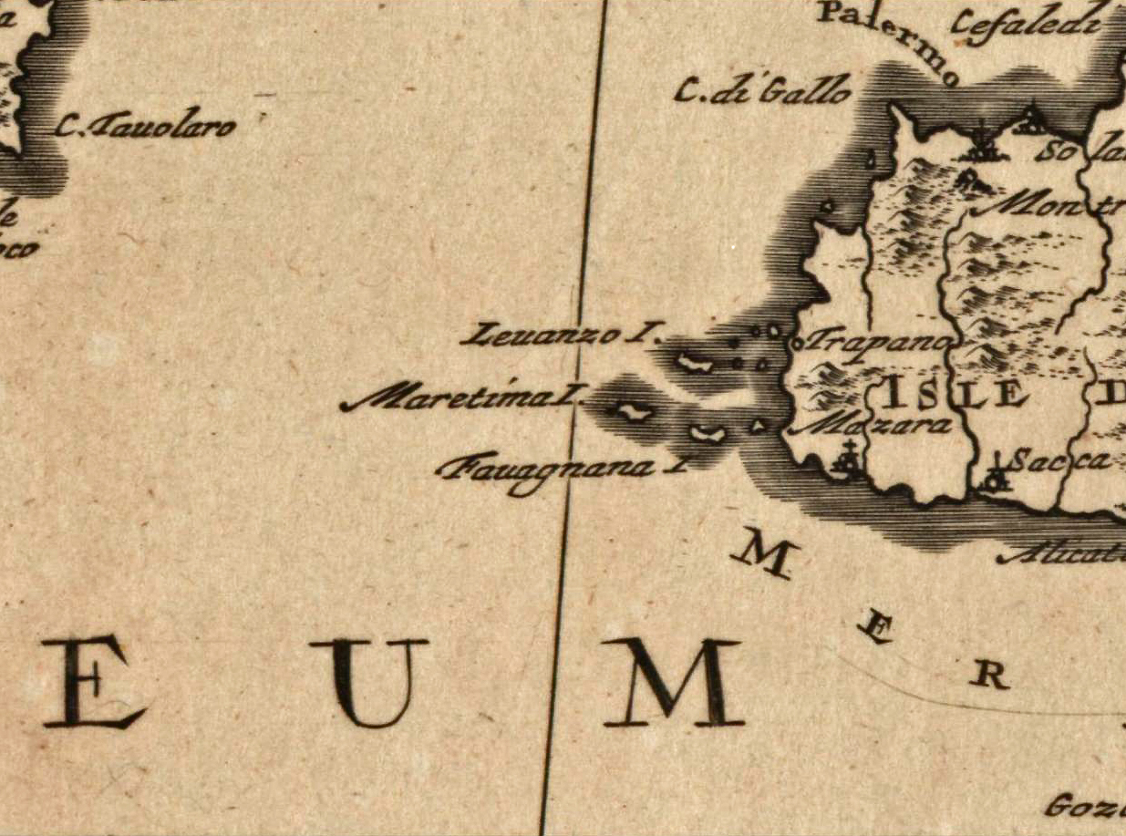 foto Accuratissima occidentalioris districtus maris Mediterranei tabula