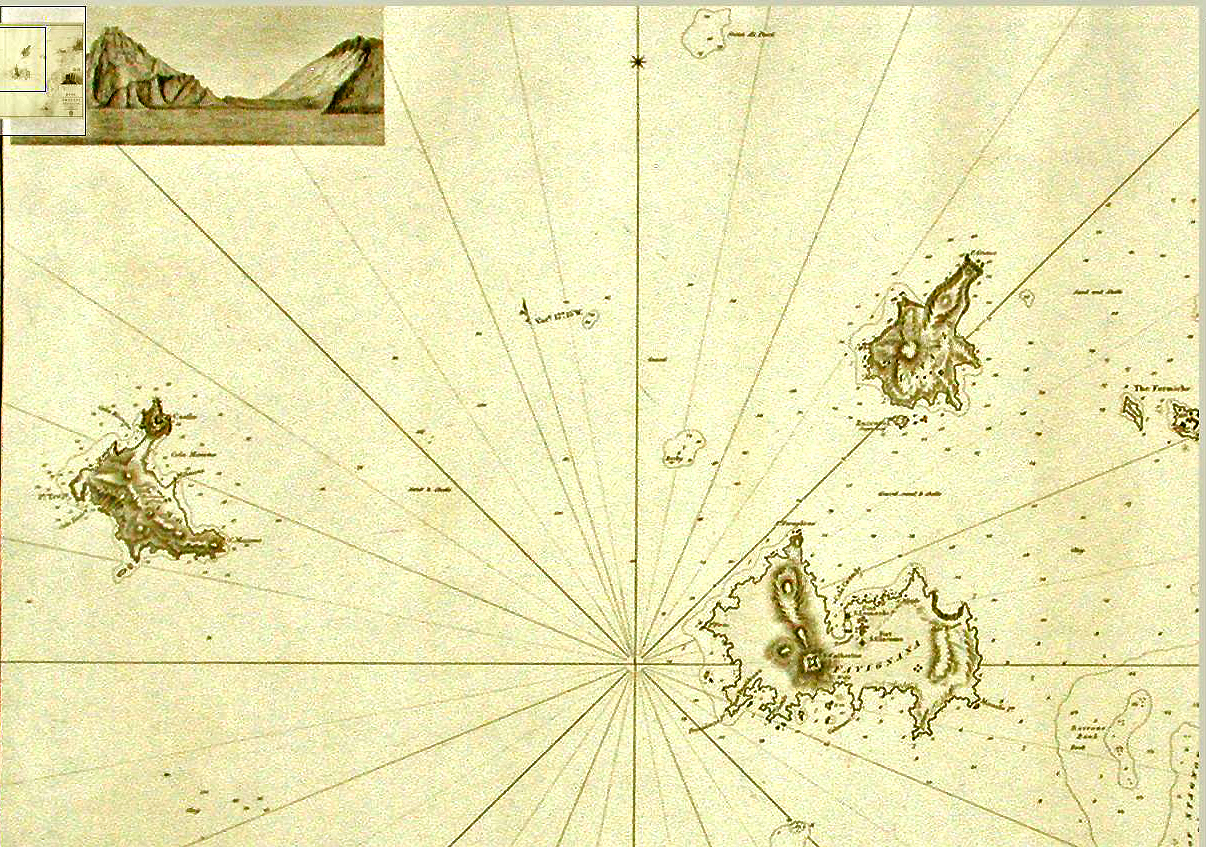 foto Plan of the Anchorages & Shoals, in the Vicinity of Trapani ....