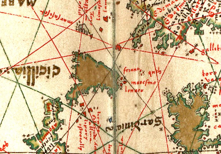 altra foto PORTOLAN ATLAS Western Europe and northwestern Africa