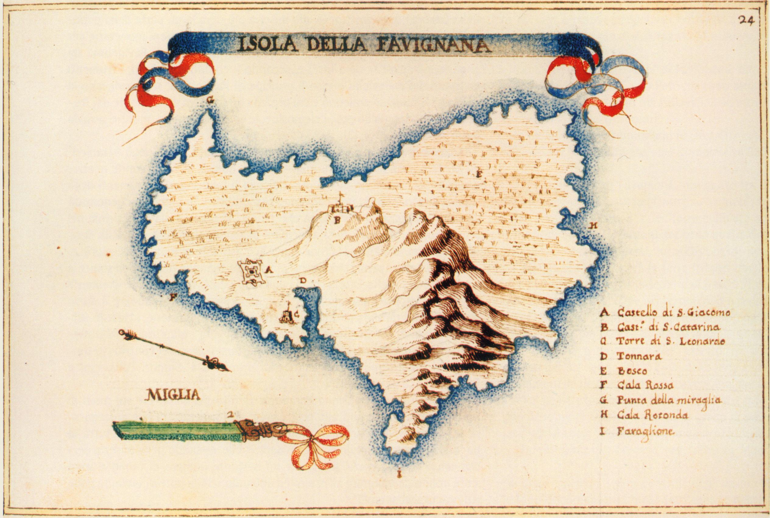 foto l'Isola della Favignana e l'Isola delle Formiche