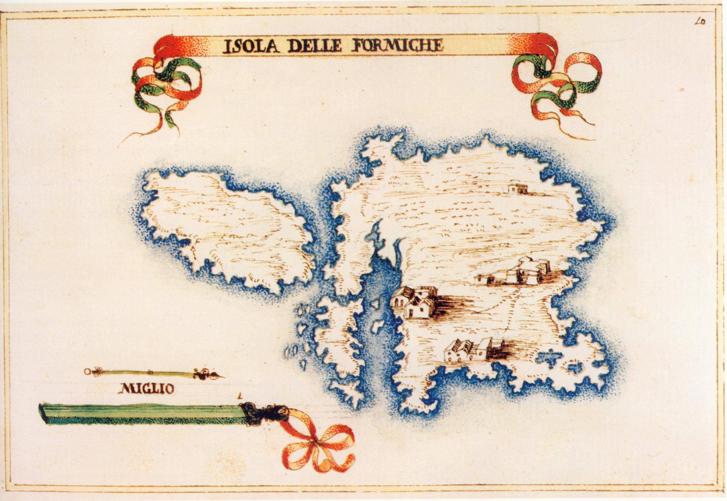 altra foto l'Isola della Favignana e l'Isola delle Formiche