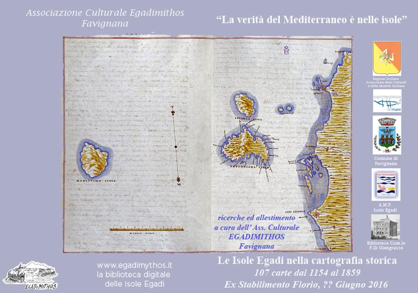 foto Le Egadi nella cartografia storica