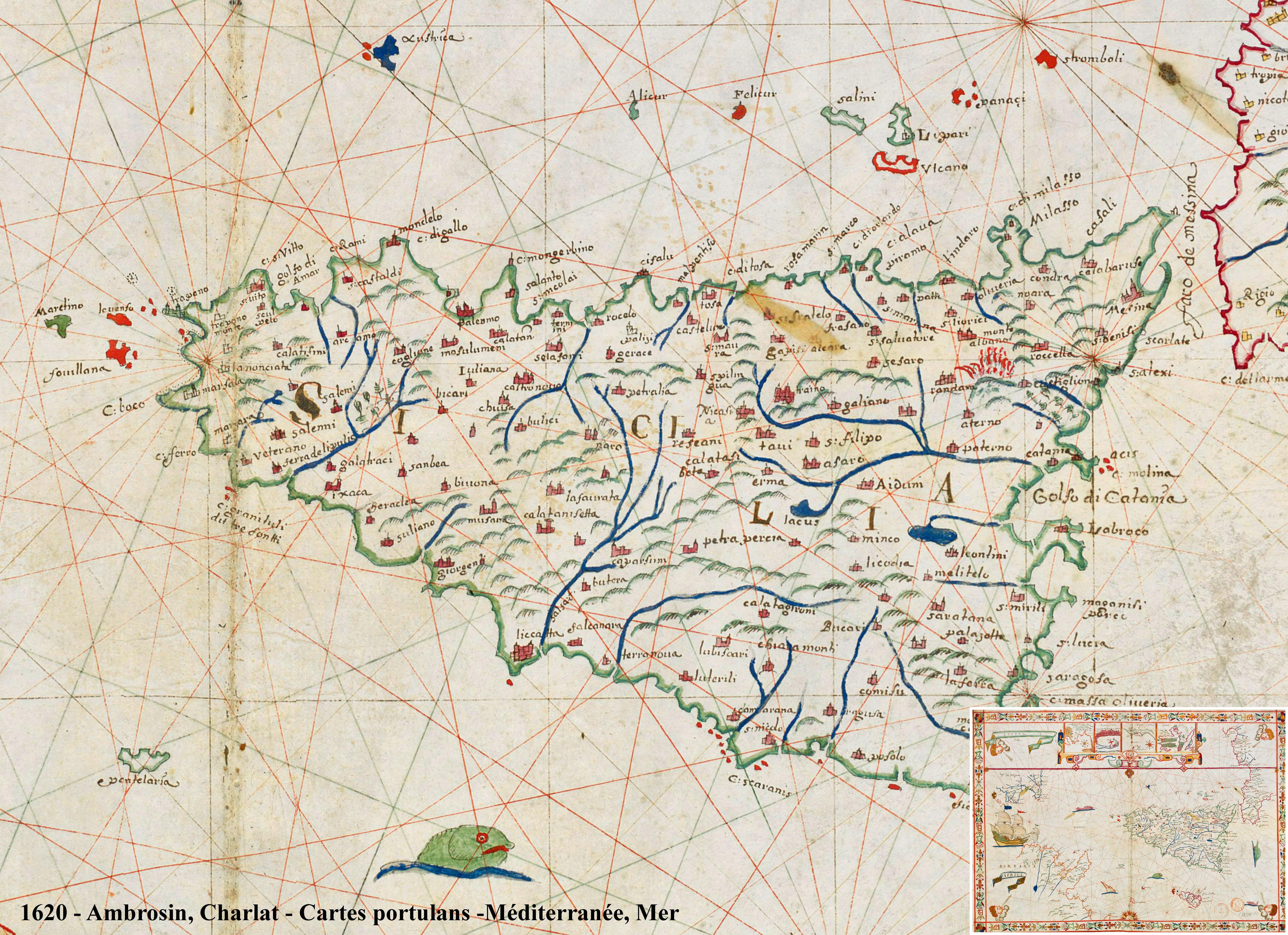 foto Atlas nautique de la Mer Méditerranée, de l'Océan Atlantique nord-est et d'une partie de la Mer Noire